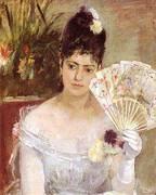 At the Ball 1875 By Berthe Morisot
