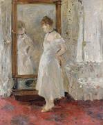 Psyche 1876 By Berthe Morisot