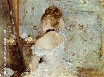 Lady at her Toilet 1875 By Berthe Morisot