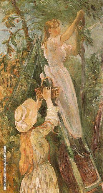 The Cherry Tree 1893 By Berthe Morisot