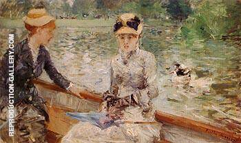 A Summers Day 1879 By Berthe Morisot