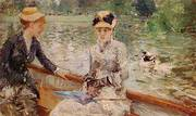 A Summers Day 1879 By Berthe Morisot