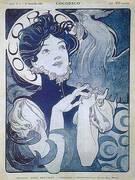 Cocorico 1898 By Alphonse Mucha
