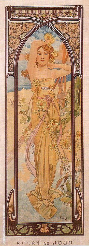 Daytime Dash 1899 By Alphonse Mucha