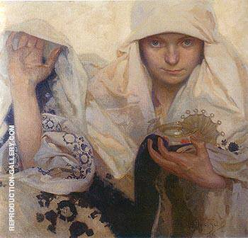 Destiny 1920 By Alphonse Mucha