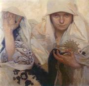 Destiny 1920 By Alphonse Mucha