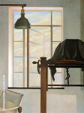 View of New York 1934 Painting By Charles Sheeler - Reproduction Gallery