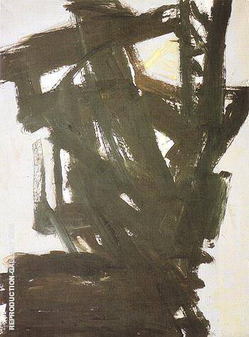 Probst 1 1960 By Franz Kline Replica Paintings on Canvas - Reproduction Gallery