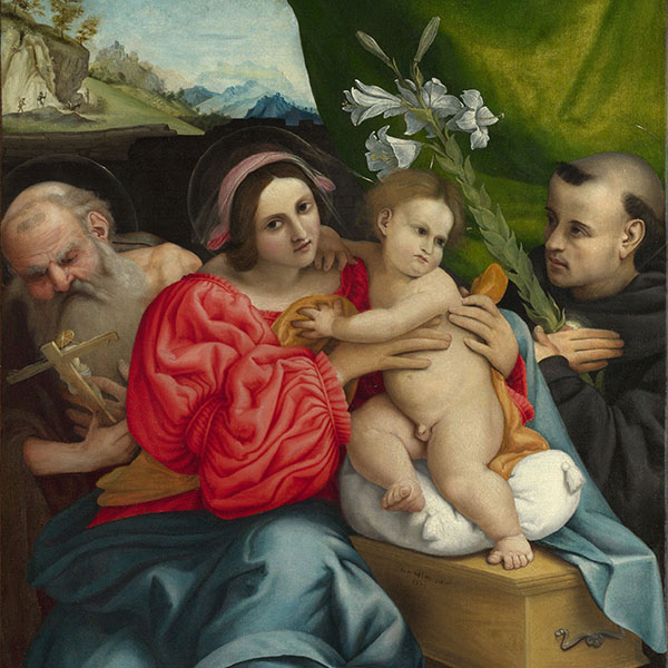 Oil Painting Reproductions of Lorenzo Lotto