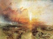 Slave Ship 1840 By Joseph Mallord William Turner