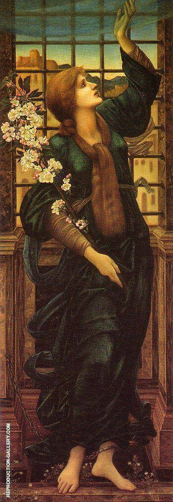 Hope c1896 By Sir Edward Coley Burne-jones