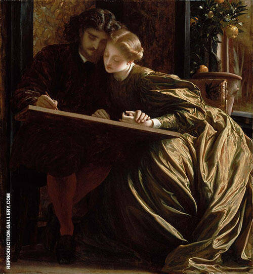 Painter's Honeymoon 1864 By Frederick Lord Leighton