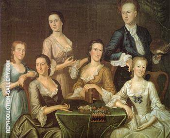 The Greenwood Lee Family c1747 By John Greenwood
