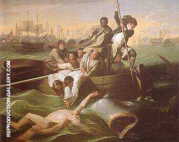 Watson and the Shark c1778 By John Singleton Copley