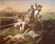 Watson and the Shark c1778 By John Singleton Copley