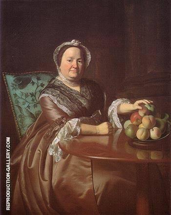 Mrs Ezekial Goldthwait 1771 By John Singleton Copley