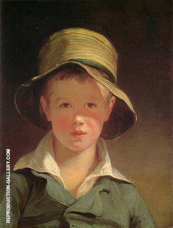 The Torn Hat 1820 By Thomas Sully - Oil Paintings & Art Reproductions - Reproduction Gallery