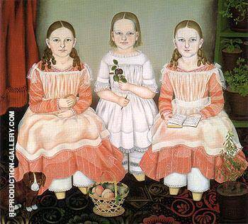 The Lincoln Children 1845 By Susan C Walters