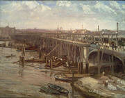 The Last of Old Westminster 1862 By James McNeill Whistler