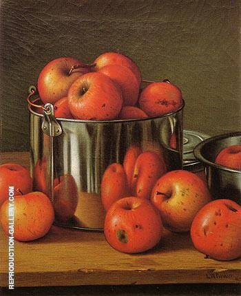 Apples in a Tin Pail 1892 By Levi Wells Prentice