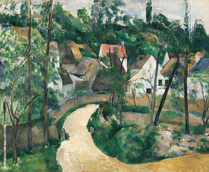 Turn in the Road c1879 By Paul Cezanne