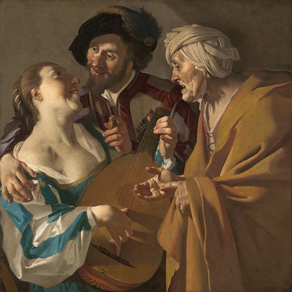 Oil Painting Reproductions of Dirk Van Baburen