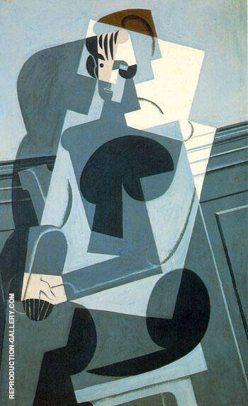 Reproduction of Portraite of Josette Gris by Juan Gris | Oil Painting Replica On CanvasReproduction Gallery