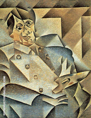 Portrait of Picasso 1912 By Juan Gris Replica Paintings on Canvas - Reproduction Gallery