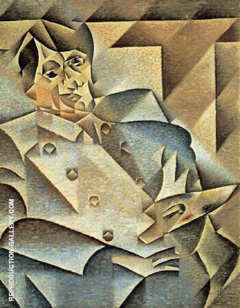 Portrait of Picasso 1912 By Juan Gris