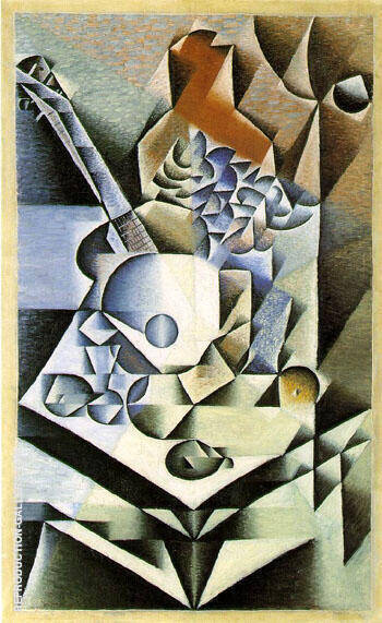 Still Life with Flowers 1912 By Juan Gris Replica Paintings on Canvas - Reproduction Gallery