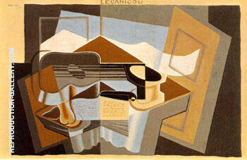 The Mountain Le Canigou 1921 By Juan Gris - Oil Paintings & Art Reproductions - Reproduction Gallery