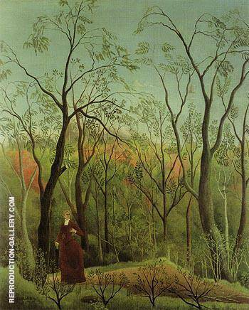 The Walk in the Forest c1888 Painting By Henri Rousseau