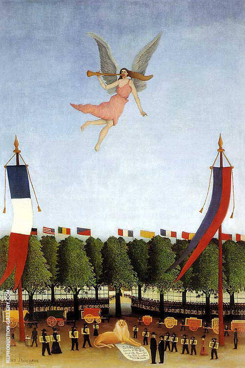 Liberty inviting the Artists 1906 By Henri Rousseau
