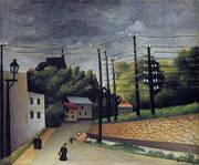View of Malakoff 1908 By Henri Rousseau