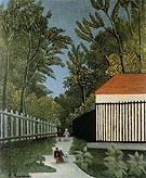 Walk in the Parc Monsouris c1910 By Henri Rousseau