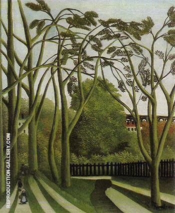Spring in the Bievre Valley 1909 By Henri Rousseau