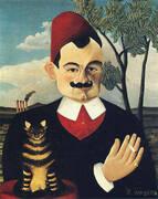 Portrait of Pierre Loti c1891 By Henri Rousseau