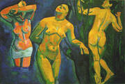 Bathers 1907 By Andre Derain