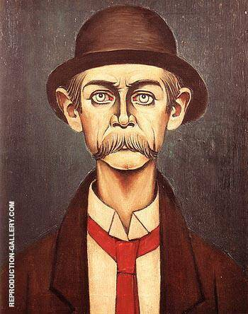 Reproduction of The Manchester Man 1936 by L-S-Lowry | Oil Painting Replica On CanvasReproduction Gallery