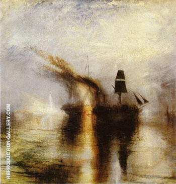 Peace Burial at Sea 1842 By Joseph Mallord William Turner