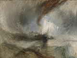 Snow Storm 1842 By Joseph Mallord William Turner