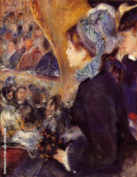 The First Outing  c1876 By Pierre Auguste Renoir - Oil Paintings & Art Reproductions - Reproduction Gallery