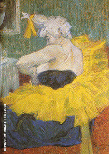 The Clowness Chau U Kao By Henri De Toulouse-lautrec