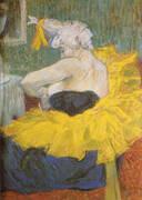 The Clowness Chau U Kao By Henri De Toulouse-lautrec