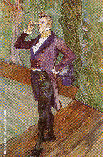 Henry Samary 1889 By Henri De Toulouse-lautrec Replica Paintings on Canvas - Reproduction Gallery