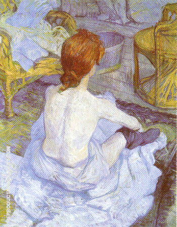 The Toilette 1896 By Henri De Toulouse-lautrec
