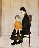Mother and Child 1956 By L-S-Lowry