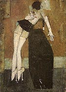 Mannequin and Block 1972 By L-S-Lowry