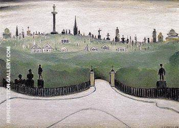 Necropolis 1947 By L-S-Lowry