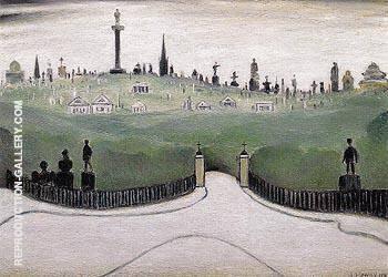 Necropolis 1947 By L-S-Lowry